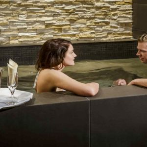 Couples In Spa Jacuzzi Hotel Grand Reykjavik Iceland Honeymoons