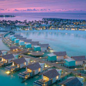 Aerial View Hard Rock Hotel Maldives Maldives Honeymoons