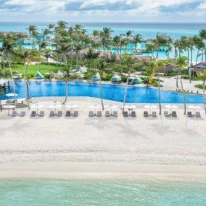 Aerial View Of Resort Hard Rock Hotel Maldives Maldives Honeymoons