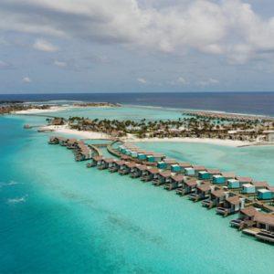 Aerial View1 Hard Rock Hotel Maldives Maldives Honeymoons
