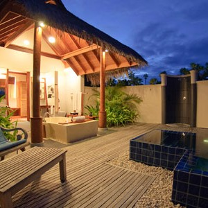 Anantara Dihug Resort Maldives beach villa