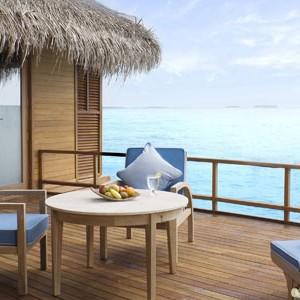 Anantara Dihug Resort Maldives water villa