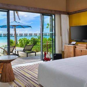 Gold Beach Villa Hard Rock Hotel Maldives Maldives Honeymoons