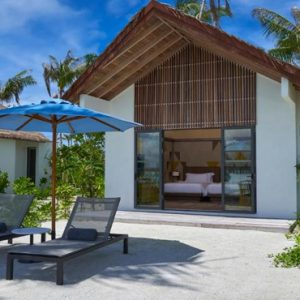 Gold Beach Villa (twin) Hard Rock Hotel Maldives Maldives Honeymoons