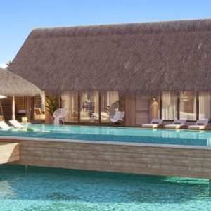 Luxury Maldives Holiday Package Waldorf Astoria Maldives Ithaafushi Two Queen Bedded Grand Overwater Villa With Pool