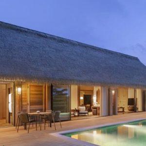 Luxury Maldives Holiday Packages Waldorf Astoria Maldives Ithaafushi King Grand Beach Villa With Pool
