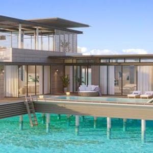 Luxury Maldives Holiday Packages Waldorf Astoria Maldives Ithaafushi Stella Maris Duplex Villa With Private Pool 3