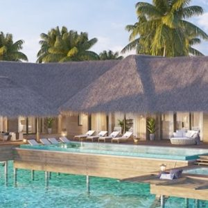 Luxury Maldives Holiday Packages Waldorf Astoria Maldives Ithaafushi Two Bedroom Reef Villa With Pool