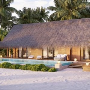 Luxury Maldives Holiday Packages Waldorf Astoria Maldives Ithaafushi Two Queen Bedded Beach Villa With Pool