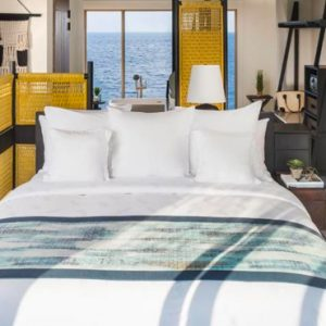 Maldives Honeymoon Package InterContinental Maldives Maamunagau Resort 1 Bedroom Sunset Lagoon Pool Villas