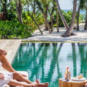 Maldives Honeymoon Package InterContinental Maldives Maamunagau Resort 2 Bedroom Family Beach Pool Villas
