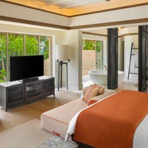 Maldives Honeymoon Package InterContinental Maldives Maamunagau Resort 2 Bedroom Family Beach Pool Villas 2