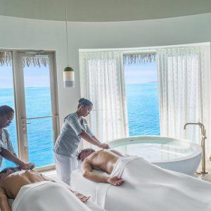 Maldives Honeymoon Package InterContinental Maldives Maamunagau Resort Couple Spa