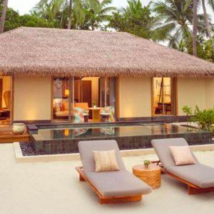 Maldives Honeymoon Package InterContinental Maldives Maamunagau Resort Family Beach Pool Villas 3