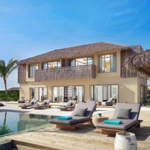 Maldives Honeymoon Package InterContinental Maldives Maamunagau Resort Pool Exterior