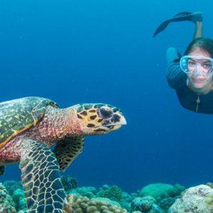 Maldives Honeymoon Package InterContinental Maldives Maamunagau Resort Scuba Diving