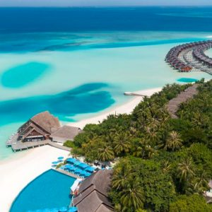 Maldives Honeymoon Packages Anantara Dhigu Resort & Spa Maldives Aerial