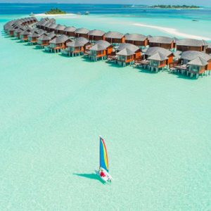Maldives Honeymoon Packages Anantara Dhigu Resort & Spa Maldives Aerial View