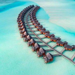 Maldives Honeymoon Packages Anantara Dhigu Resort & Spa Maldives Aerial View 2
