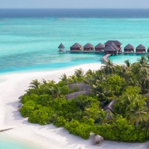 Maldives Honeymoon Packages Anantara Dhigu Resort & Spa Maldives Aerial View 4