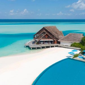 Maldives Honeymoon Packages Anantara Dhigu Resort & Spa Maldives Aerial View 5
