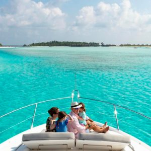 Maldives Honeymoon Packages Anantara Dhigu Resort & Spa Maldives Boat POV