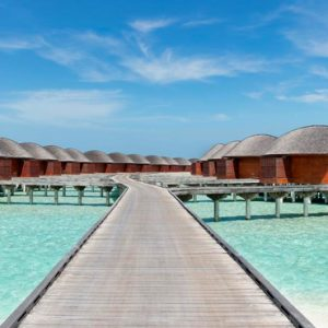 Maldives Honeymoon Packages Anantara Dhigu Resort & Spa Maldives Bridge View