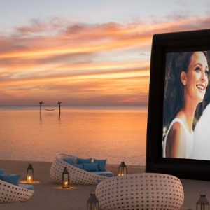 Maldives Honeymoon Packages Anantara Dhigu Resort & Spa Maldives Open Air Cinema