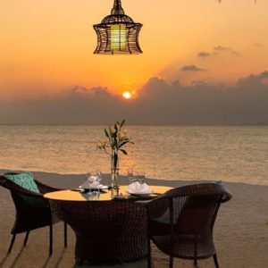 Maldives Honeymoon Packages Anantara Dhigu Resort & Spa Maldives Romantic Dining 2