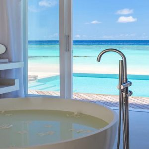 Maldives Honeymoon Packages Baglioni Maldives Resorts Bath With A View