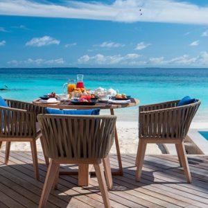Maldives Honeymoon Packages Baglioni Maldives Resorts Breakfast On Deck