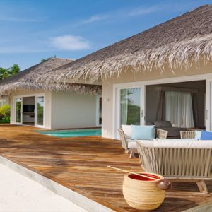 Maldives Honeymoon Packages Baglioni Maldives Resorts Pool Suite Beach Villa6