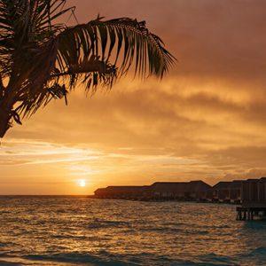 Maldives Honeymoon Packages Baglioni Maldives Resorts Water Villas At Sunset