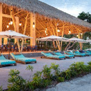 Maldives Honeymoon Packages Emerald Resort & Spa Beach Restaurant