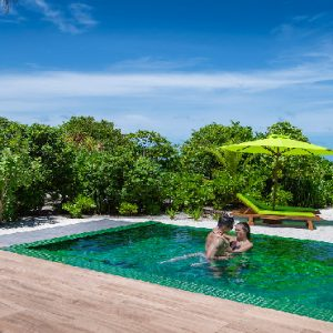 Maldives Honeymoon Packages Emerald Resort & Spa Beach Villa With Pool2