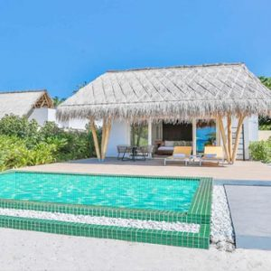 Maldives Honeymoon Packages Emerald Resort & Spa Beach Villa With Pool3