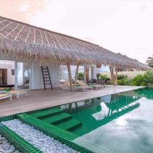 Maldives Honeymoon Packages Emerald Resort & Spa Family Beach Villa With Pool2