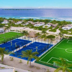 Maldives Honeymoon Packages Emerald Resort & Spa Tennis Court