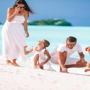 Maldives Honeymoon Packages Emerald Resort & Spa Family On Beach