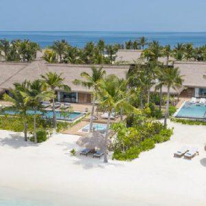 Maldives Honeymoon Packages Waldorf Astoria Maldives Aerial View