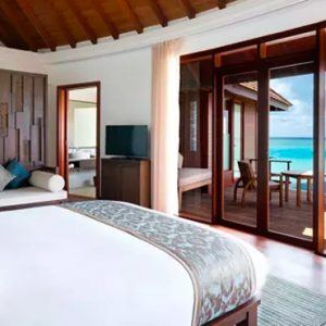 Maldives Honeymoons Anantara Dhigu Maldives Resort Anantara Over Water Pool Suite 2