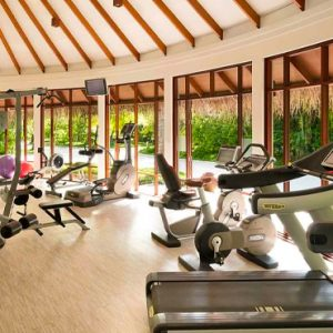 Maldives Honeymoons Anantara Dhigu Maldives Resort Gym