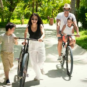 Maldives Honeymoons Anantara Dhigu Maldives Resort Resort Bikes