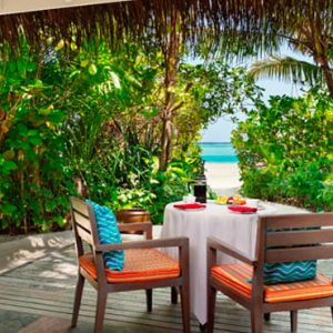 Maldives Honeymoons Anantara Dhigu Maldives Resort Sunrise Beach Villa
