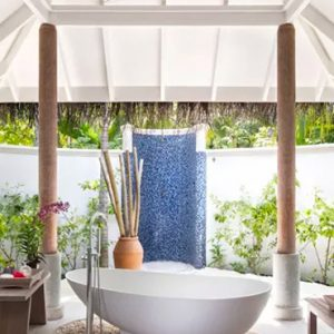 Maldives Honeymoons Anantara Dhigu Maldives Resort Sunrise Beach Villa Bathroom