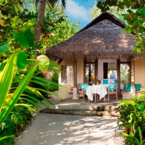 Maldives Honeymoons Anantara Dhigu Maldives Resort Sunrise Beach Villa Exterior