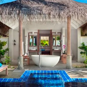 Maldives Honeymoons Anantara Dhigu Maldives Resort Sunset Pool Villa