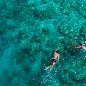 Maldives Honeymoons Anantara Dhigu Maldives Resort Swimming