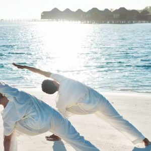Maldives Honeymoons Anantara Dhigu Maldives Resort Yoga 1
