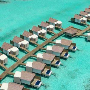 Maldives Honeymoon Packages Hard Rock Hotel Maldives Aerial View